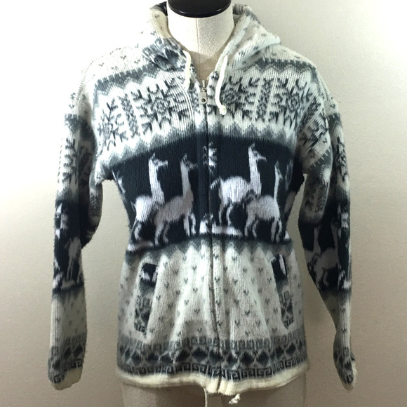ab237a2da handmade Jackets & Coats | P10 Andes Artesania Alpaca Jacket Sz 10 ...